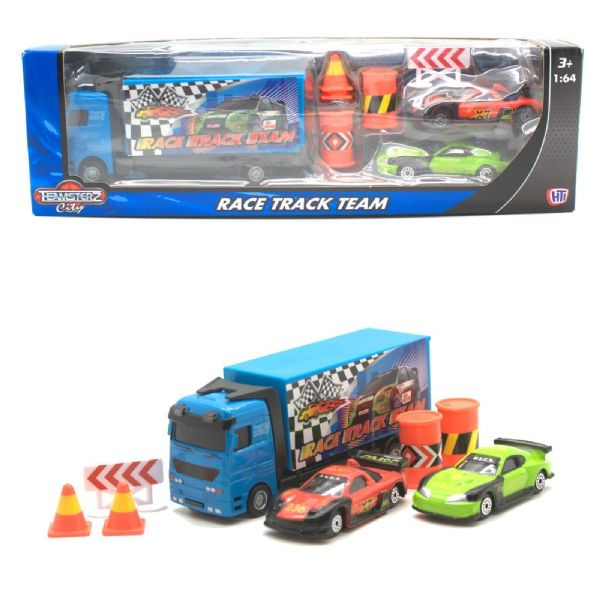 Teamsterz - Teamsters Race Track Team Toy Truck And Cars - 3+ Years